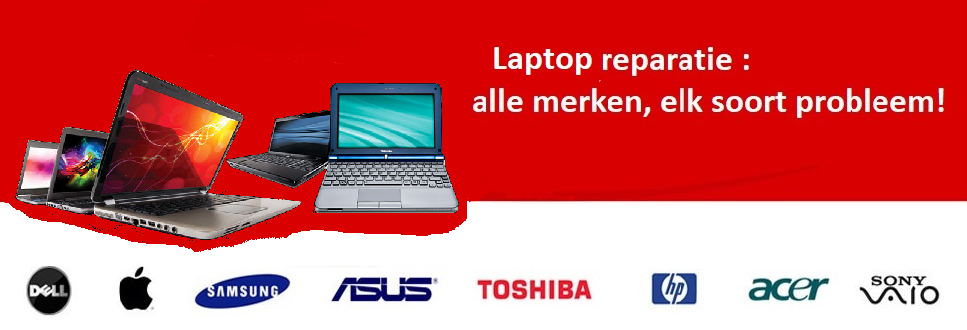 laptop reparatie in Bussum